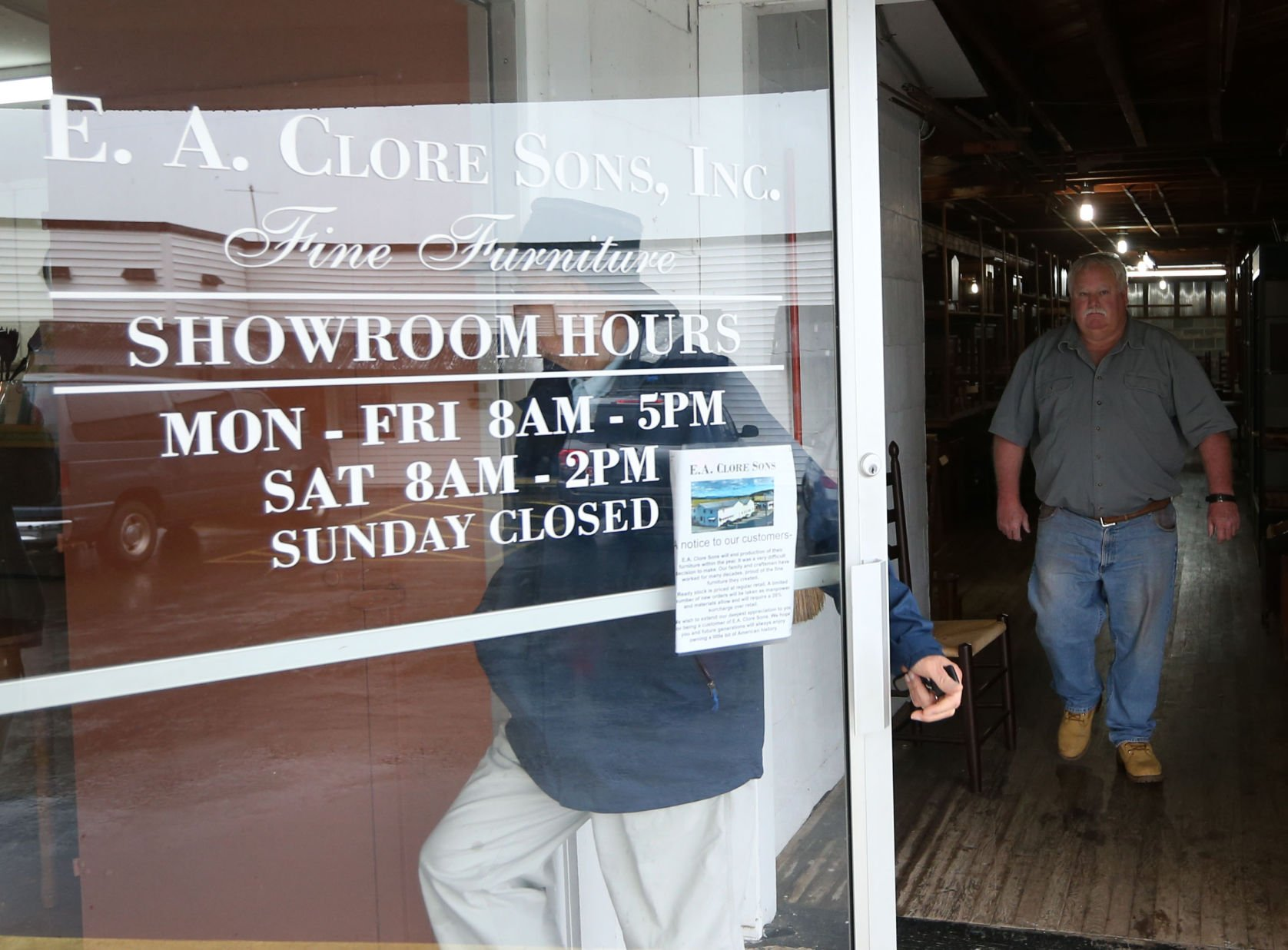 E.A. Clore Sons, Inc. Closing 186 Year Old Furniture Business | |  Dailyprogress.com