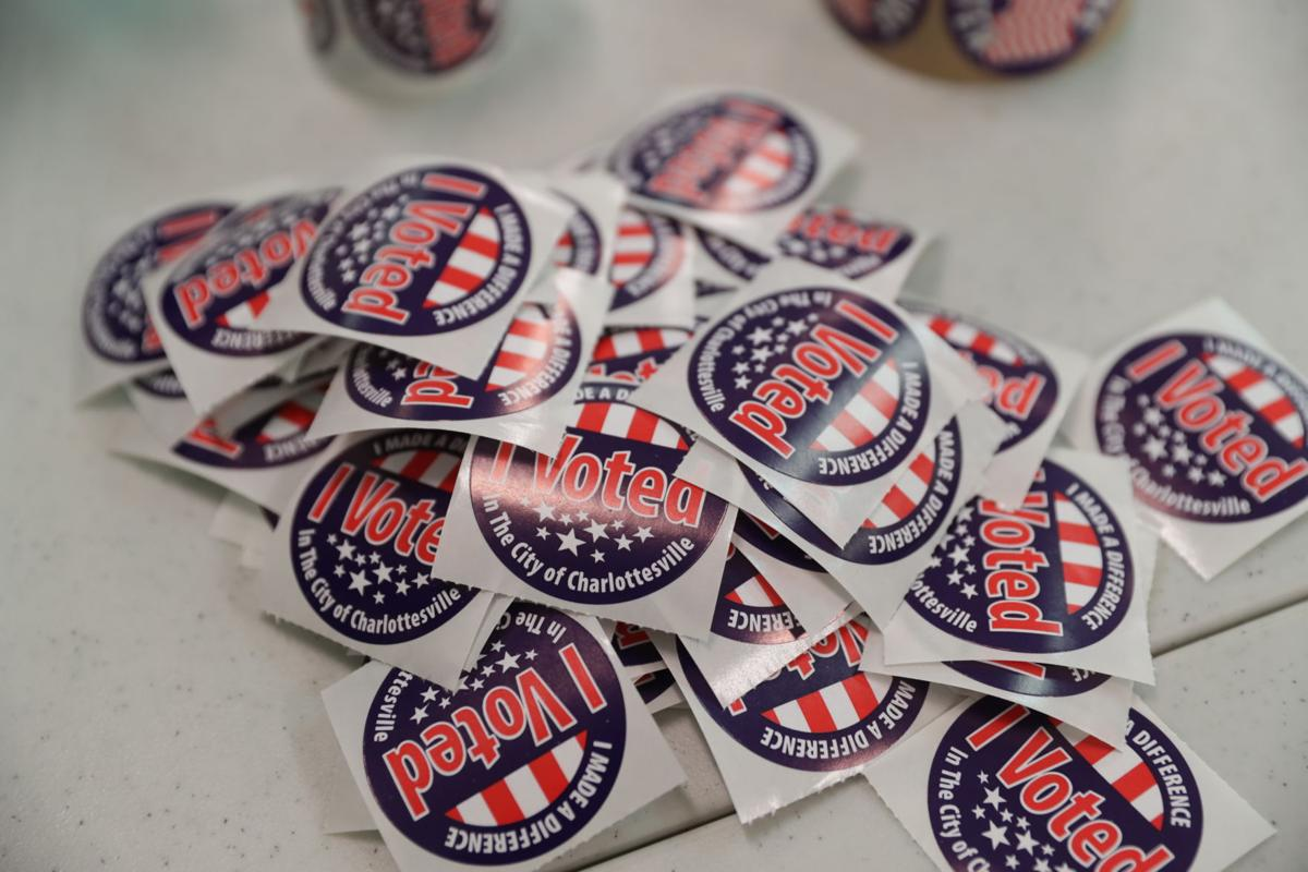 Voting stickers, Election Day