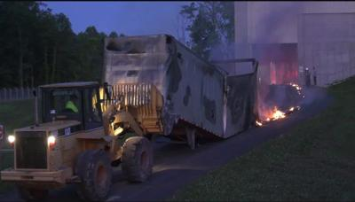 Ivy Material Utilization Center fire
