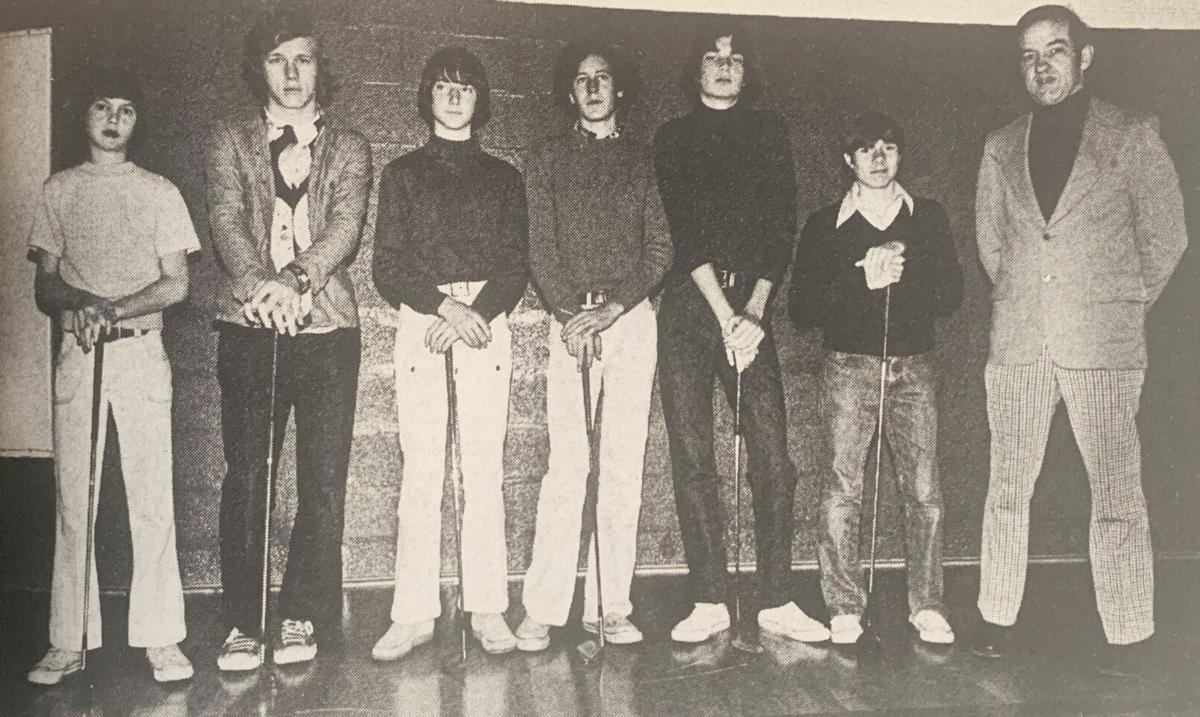 Golf team 1977