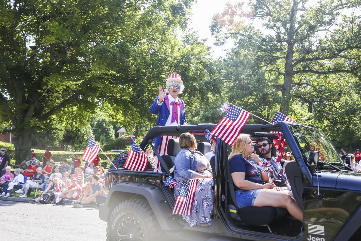 'Happy Birthday America' parade