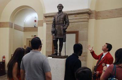 Lee statue at the U.S. Capitol