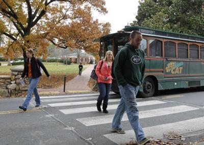 pedestrian question
