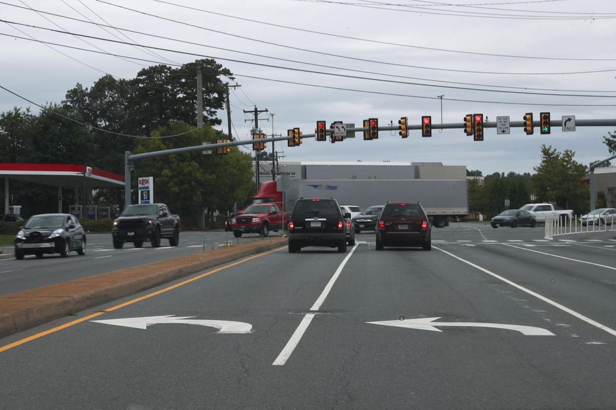 Hydraulic Road and U.S 29