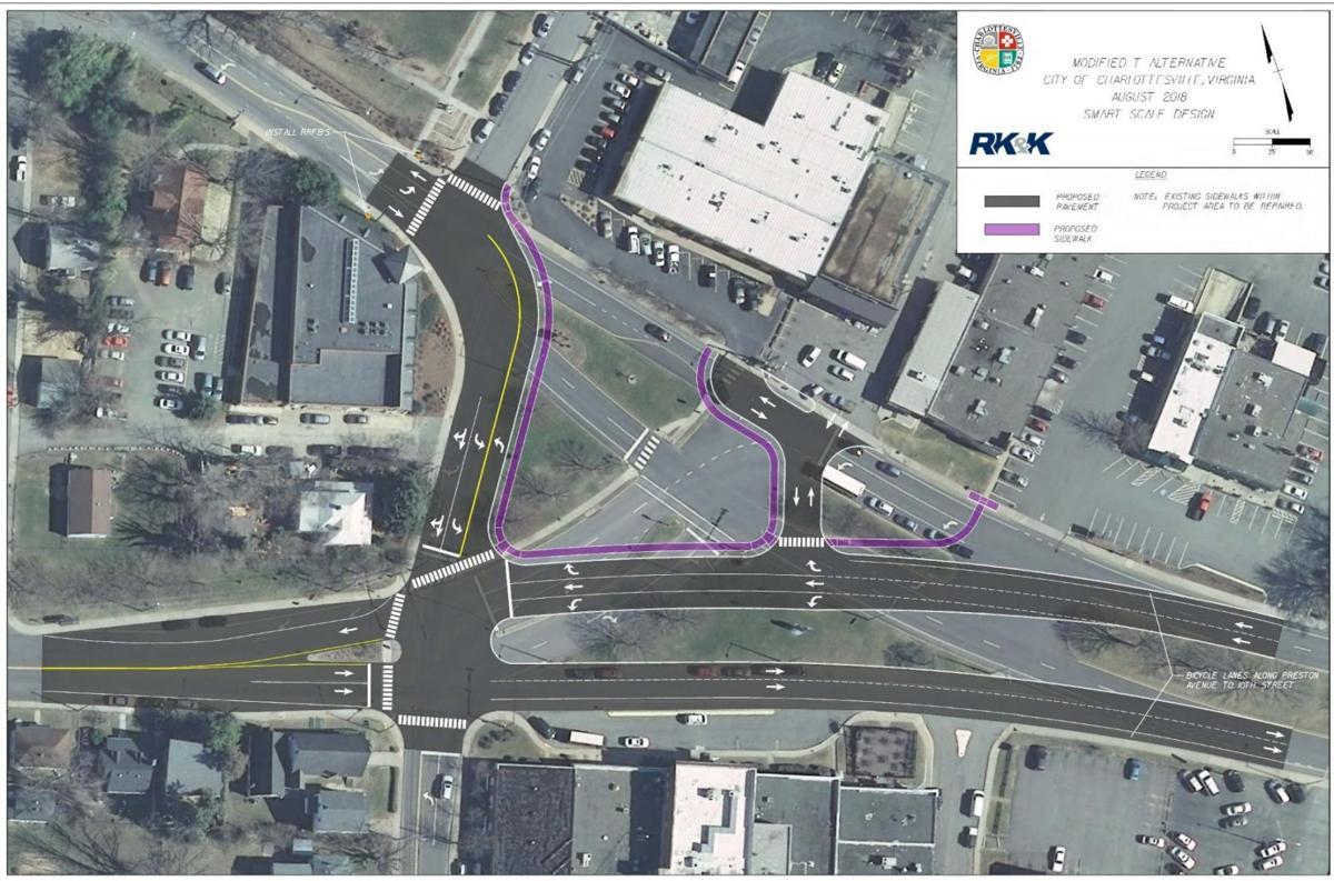 Proposed Preston-Grady intersection improvement