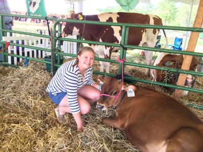 Ashley Goodwin of Grandview Dairy Farm