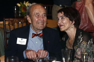 Caplin and daughter at 100 birthday