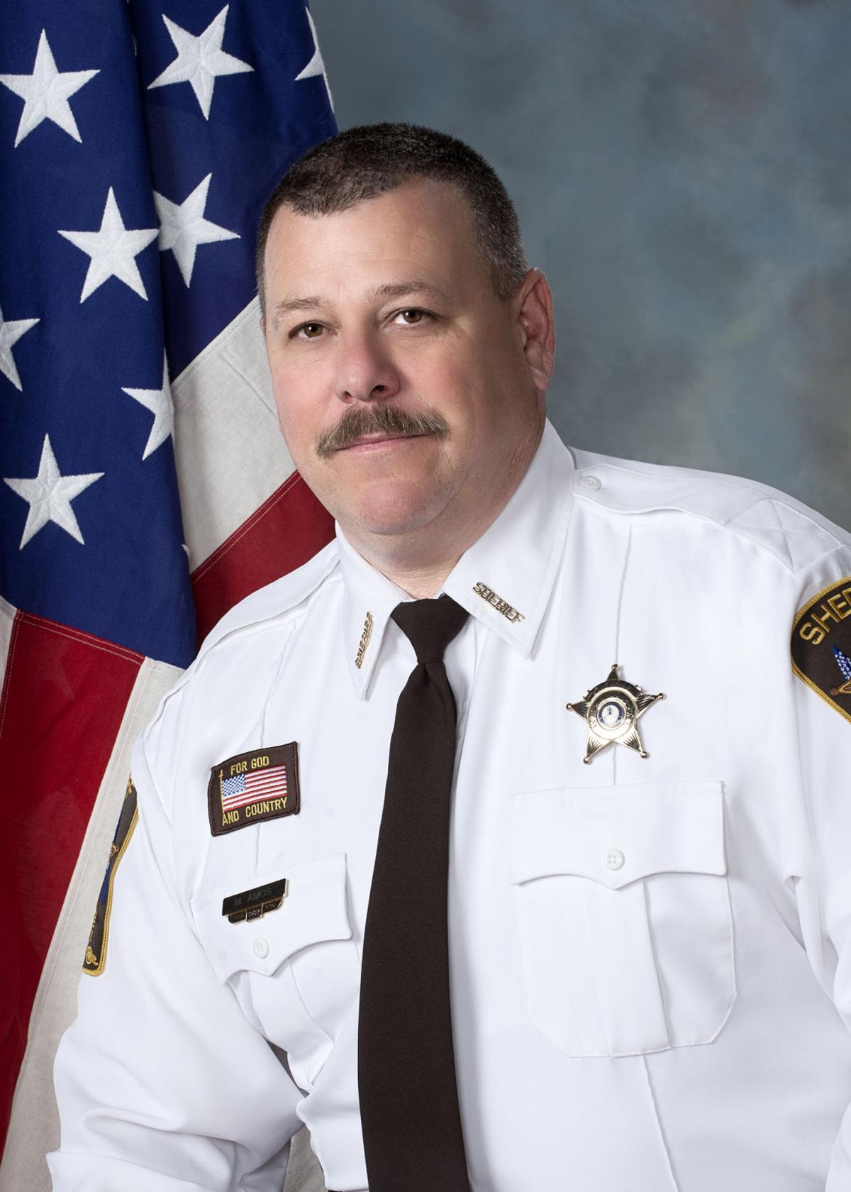 Orange County Sheriff Mark Amos