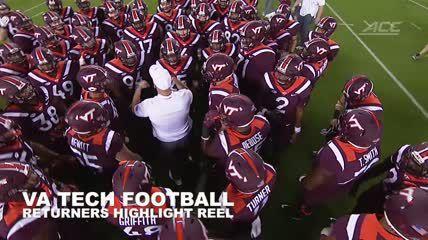 Va  Tech Football Returners: Highlight reel