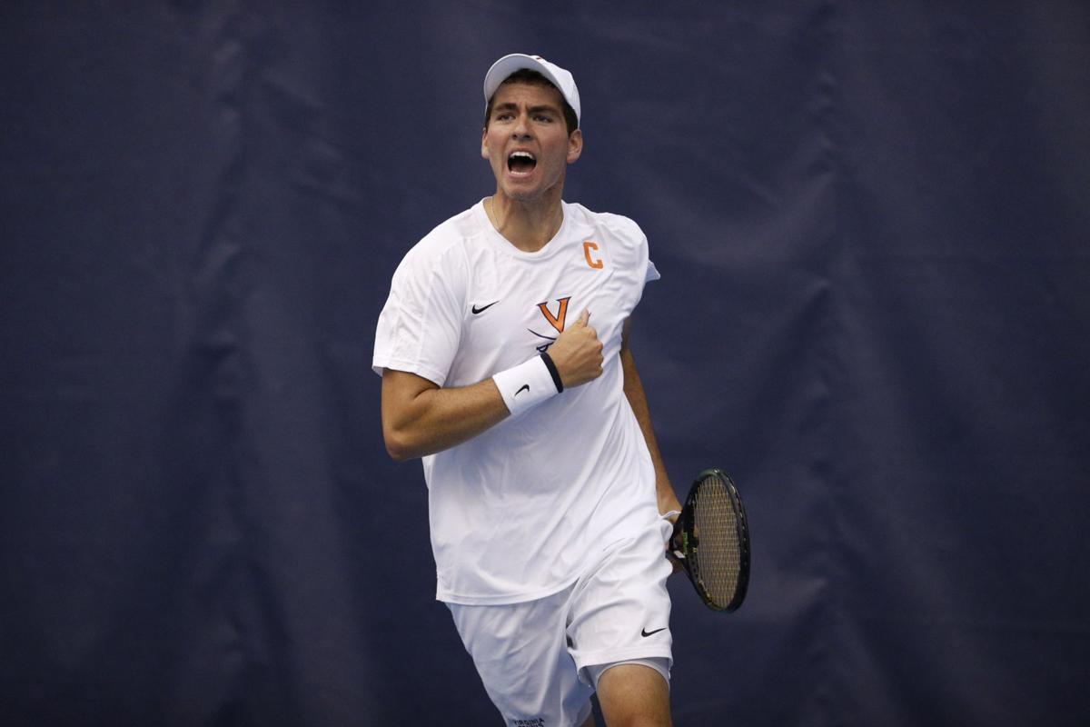 Virginia men's tennis team wins second straight national ...