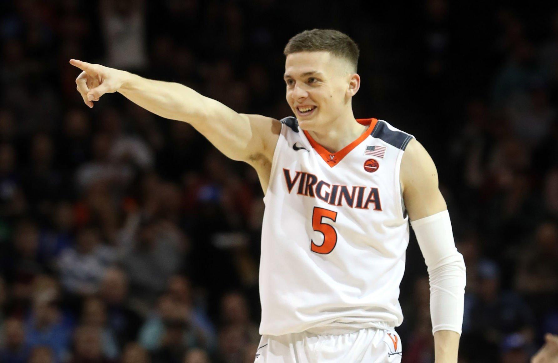 Jack Salt Virginia Cavaliers Basketball Jersey - White