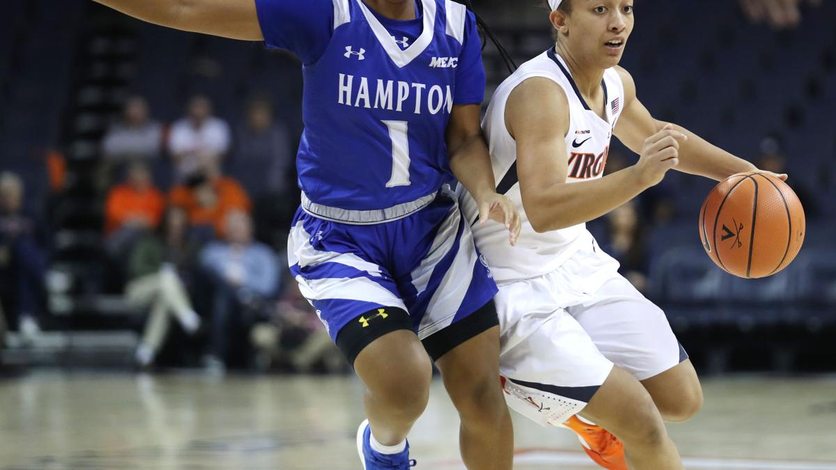 After rocky second-half start, Virginia beats Hampton 66-62
