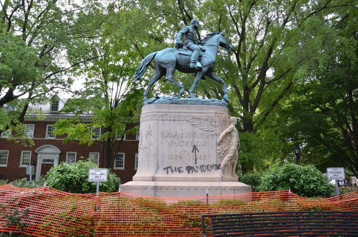 """Gen. Thomas """"Stonewall"""" Jackson statue"""