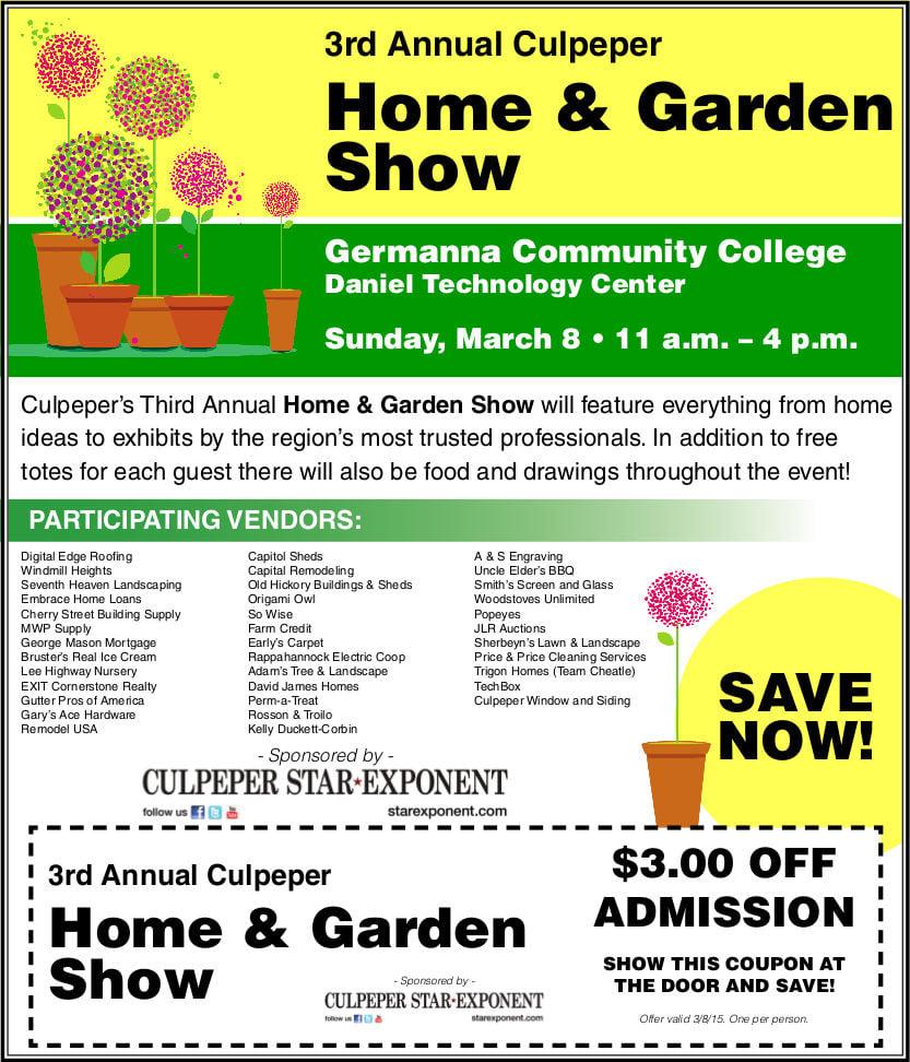 Culpeper Home U0026 Garden Show