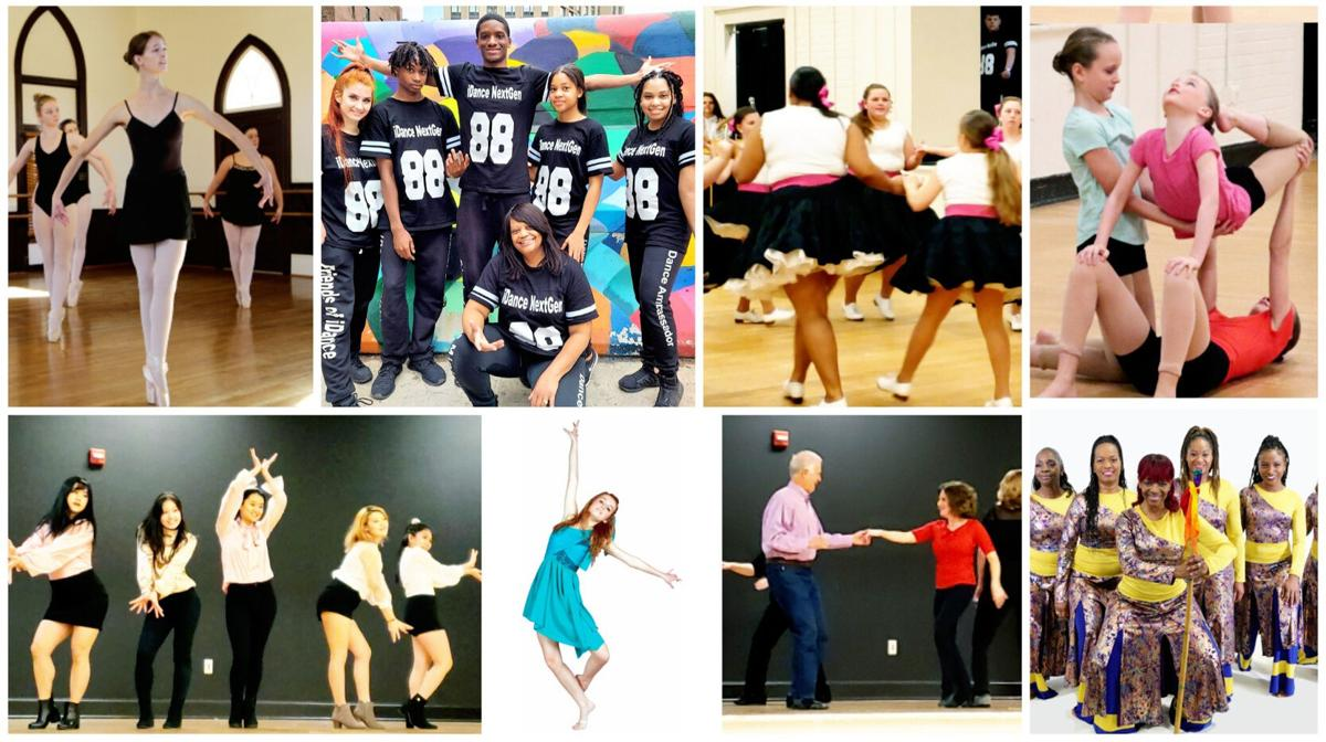 National Dance Week collage