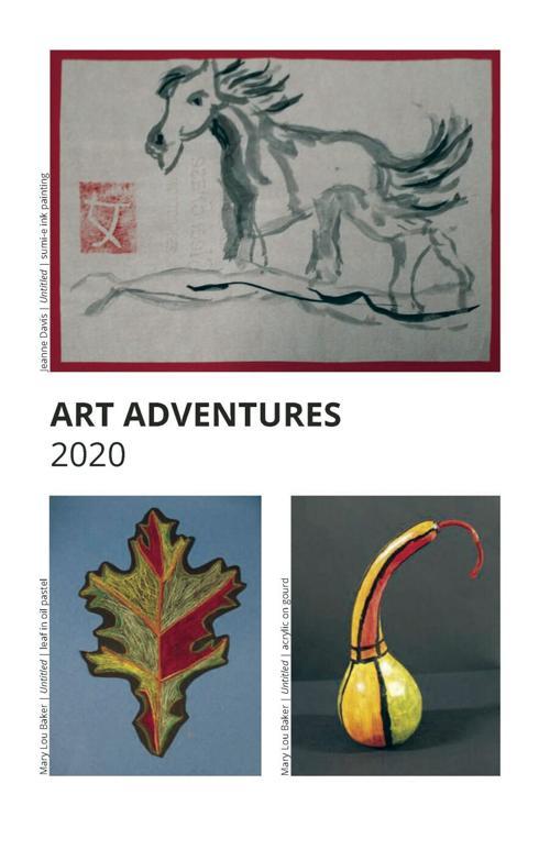 Art Adventures post card, 2020