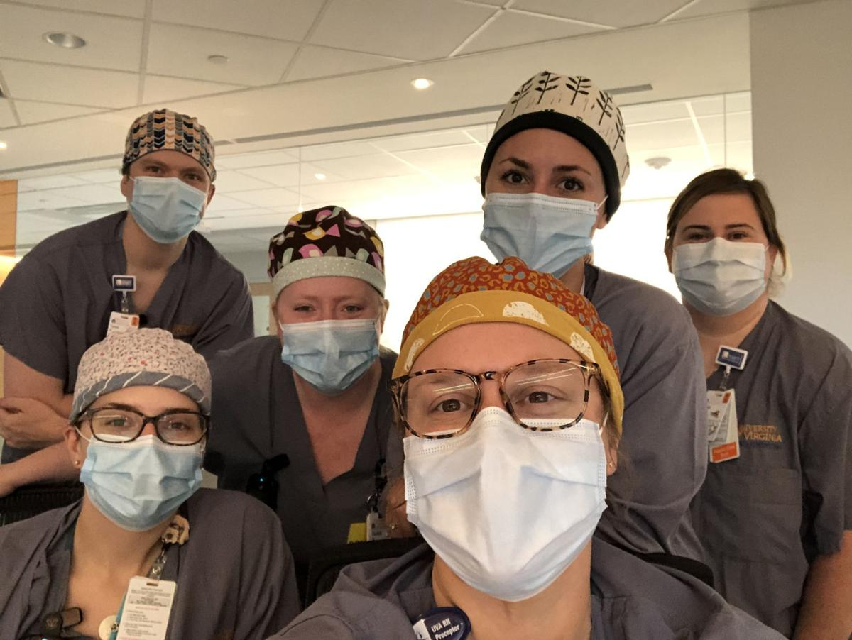 UVa COVID unit staffers