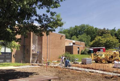 Back to school? Work underway at OES