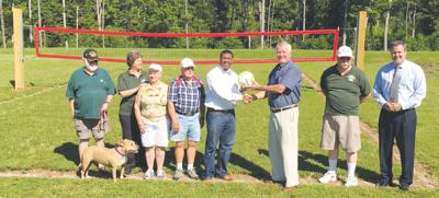 Ruritans donate volleyball court to Greene County