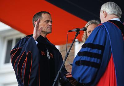 Jim Ryan inauguration