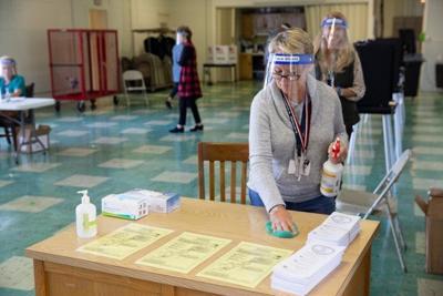 Buckingham voting precinct