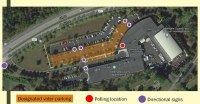 Albemarle election parking