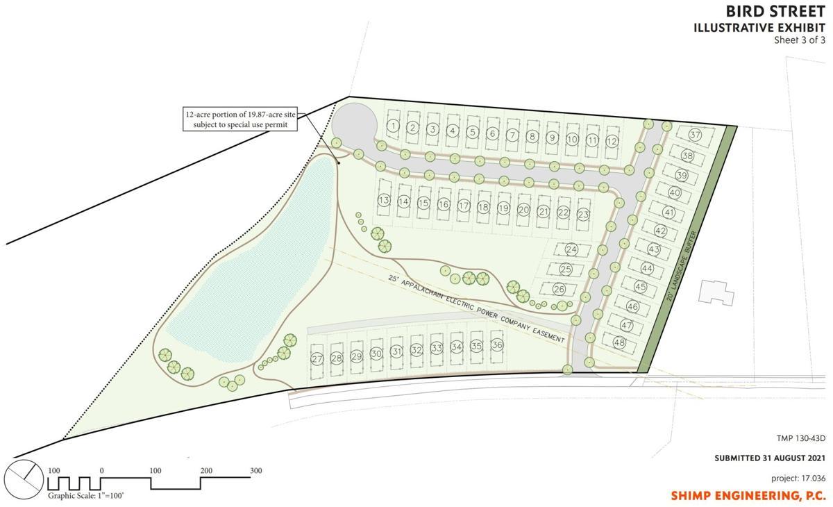 Bird Street development concept plan