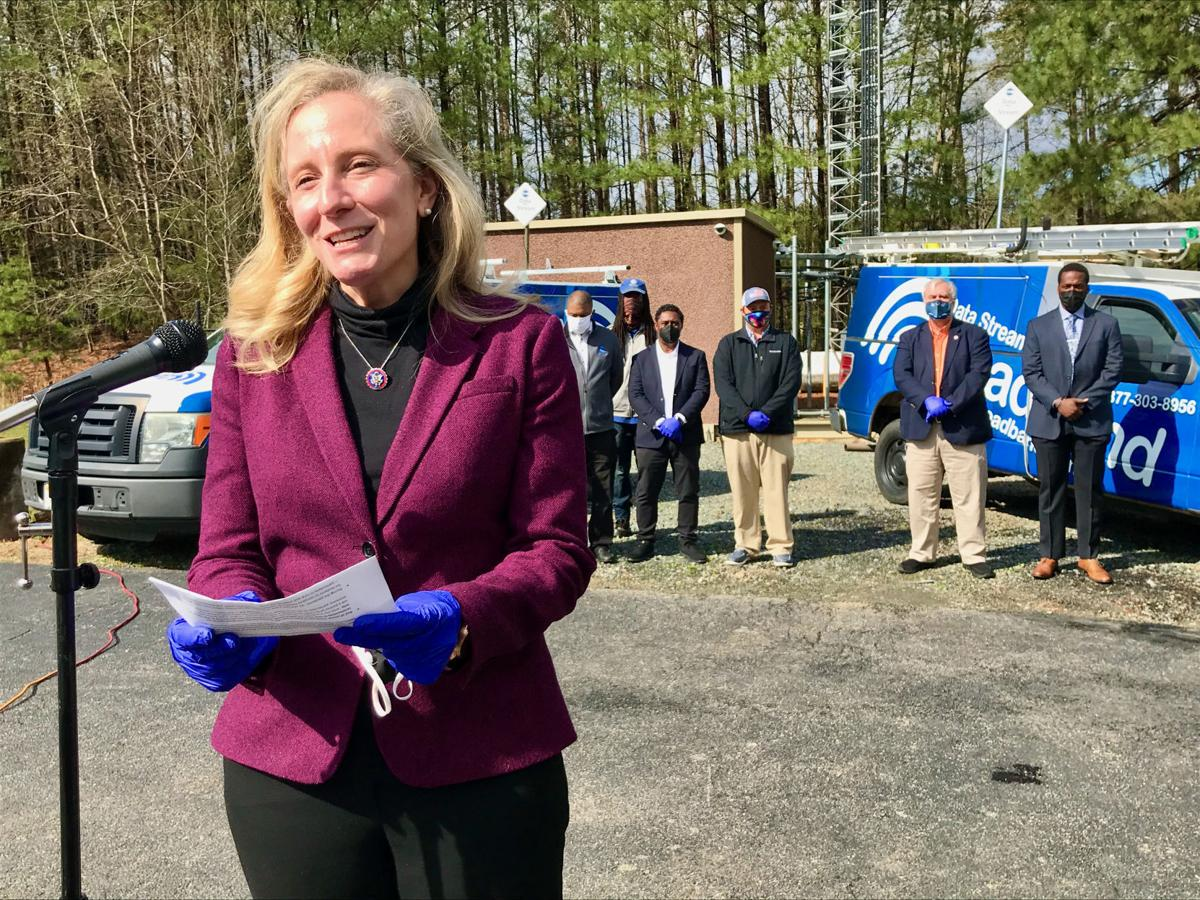 5G internet comes to rural Spotsylvania - Spanberger