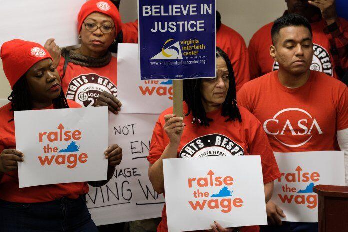 Minimum wage in Virginia