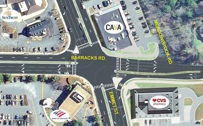 Barracks-Emmet intersection