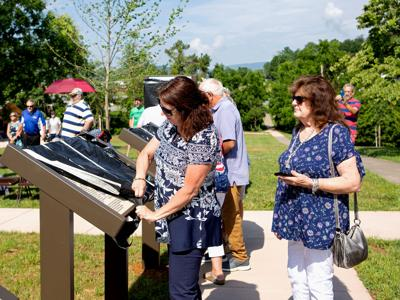 Blue Ridge Heritage Project memorial unveiled