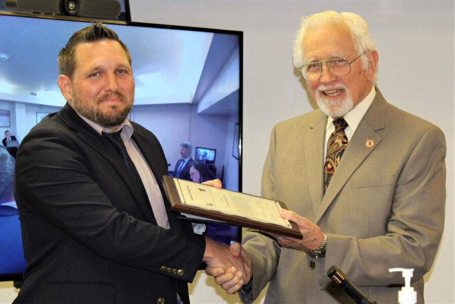 OC BoS-Thomas honored with TRIAD SALT Award