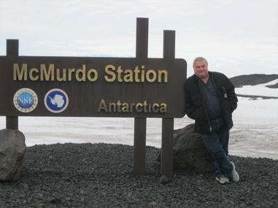 On ice: Local man works on U.S. base in Antarctica