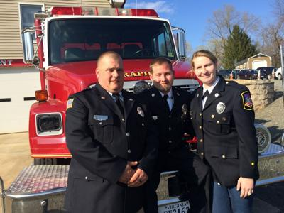 A firefighter's survival story