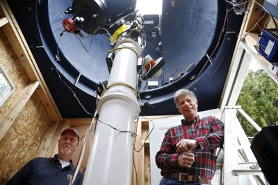 State Of The Art Backyard Observatory Honors Namesake S Vision