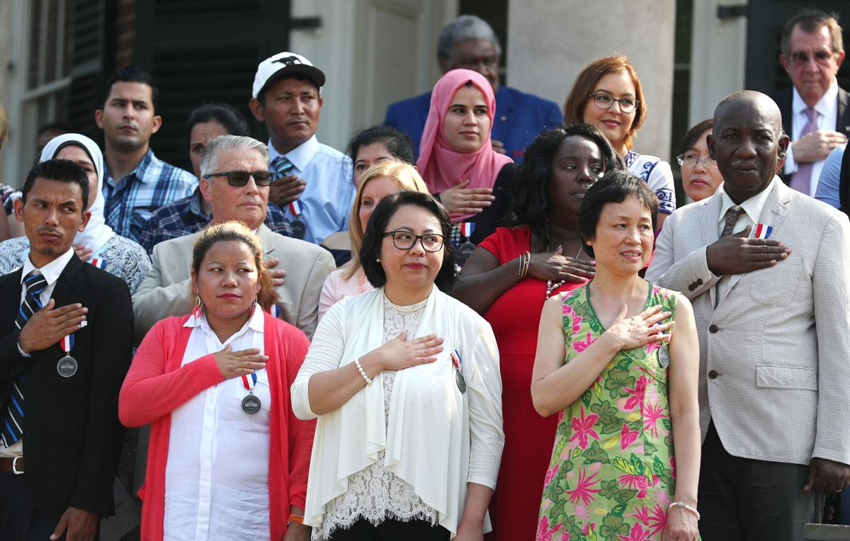 67 join 'our American family' at Monticello naturalization