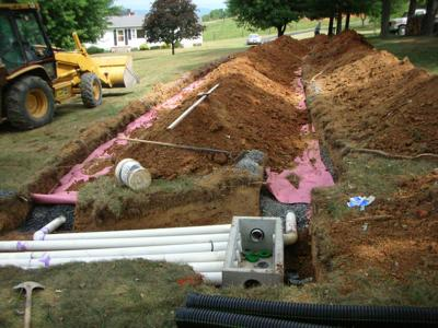 The Thomas Jefferson Soil and Water Conservation District - septic image