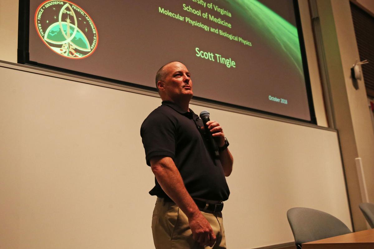 Astronaut speaks at UVa