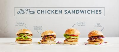 B.GOOD introduces four new chicken sandwiches