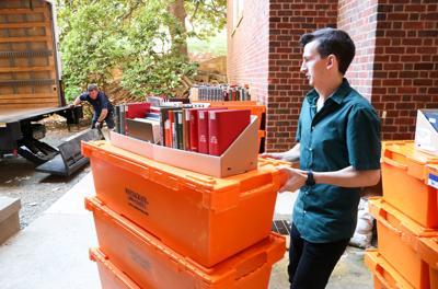 Alderman Library renovation
