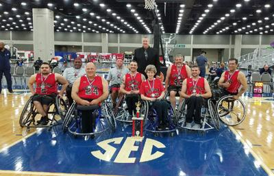 Wheelchair basketball team stages free exhibition Sunday