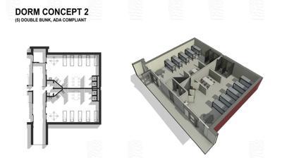 Potential ACRJ renovations diagram