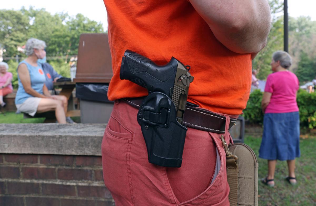 Gun ordinance protest