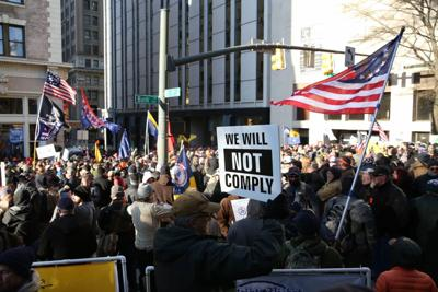 Gun rights supporters rally