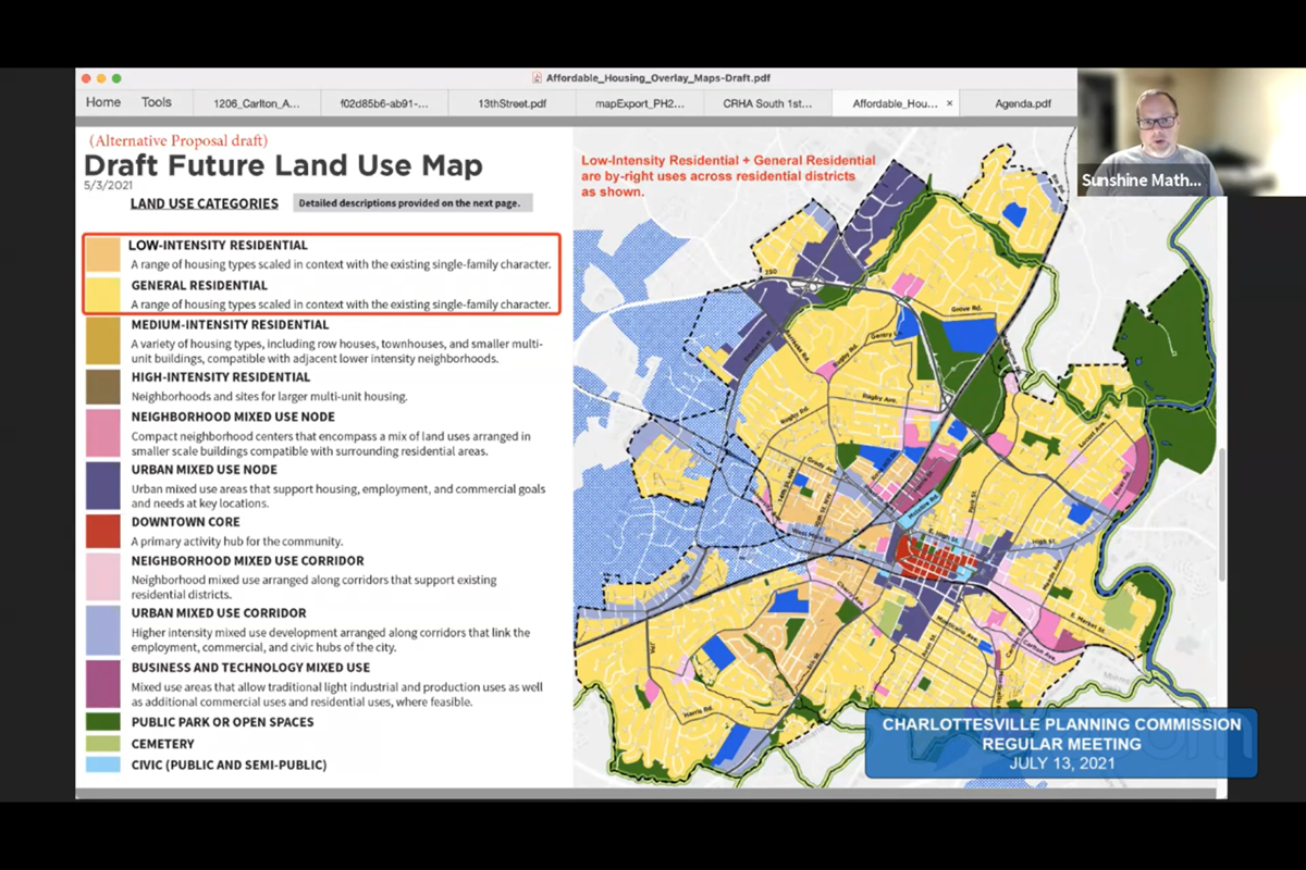 Proposed future land use map framework