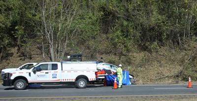Fatal wreck on I-64