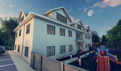 1021 Park St. rendering