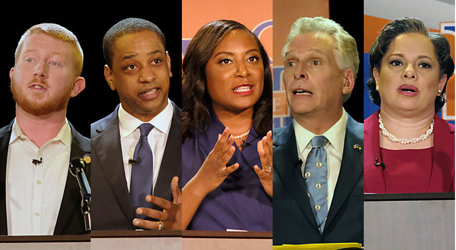 Democratic candidates for govenor