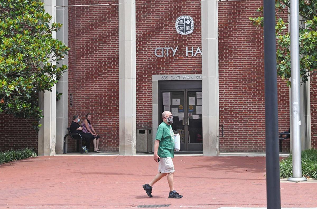 City Hall employees return to work