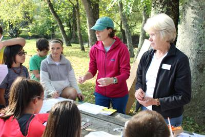 WMMS science students tackle watersheds hands on